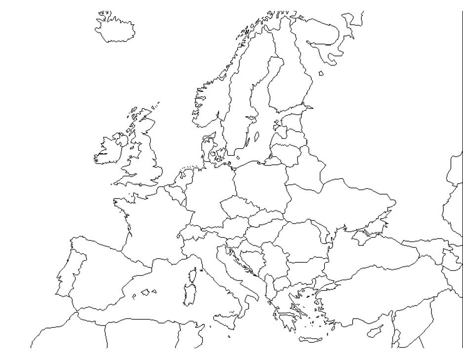 Cartina Muta Nord Europa.Mappa Muta Europa Fisica Pdf