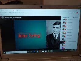 Powerpoint su Alan Turing: i ragazzi di terza al lavoro!