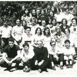 Prima classe IV Istituto Magistrale con la presenza dei maschi