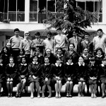 Una delle prime classi Istituto Magistrale con i maschi