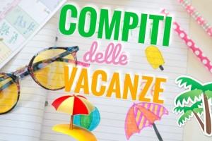 COMPITI DELLE VACANZE CLASSI PRIME