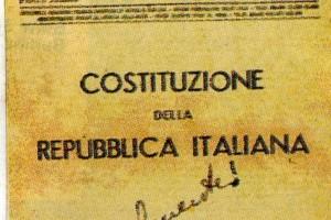 La Costituzione nelle discipline scolastiche