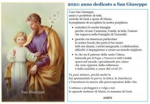 2021: Anno dedicato a San Giuseppe